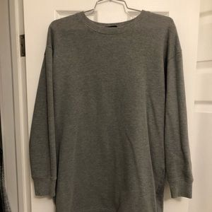 Forever 21 Sweaters - Forever21 Oversized Grey Sweatshirt